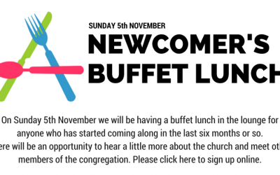 Newcomers buffet – 10th